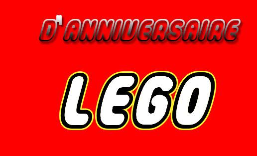 Cartons D Invitation Pour Un Anniversaire Lego Myplanner Le Blog