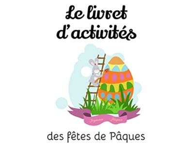 livret d'activités de pâques pour enfants