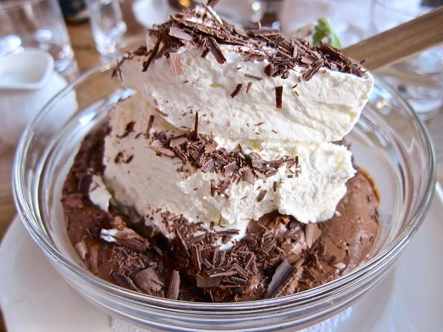 mousse au chocolat