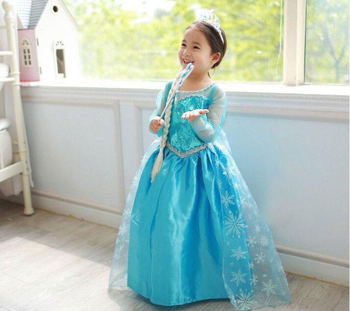 Déguisement robe d'Elsa d'Arendelle
